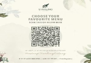 Aplikasi QR-CODE Digunakan untuk Pemesanan Menu Makanan di Starling Eatery